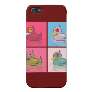 Four Colorful Ducks iPhone 5 Cases