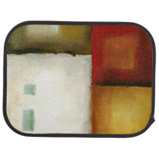 Four Colorful Rectangles by Chariklia Zarris Car Mat