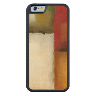 Four Colorful Rectangles by Chariklia Zarris Carved® Maple iPhone 6 Bumper Case