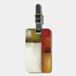 Four Colorful Rectangles by Chariklia Zarris Luggage Tag