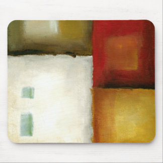 Four Colorful Rectangles by Chariklia Zarris Mouse Mat