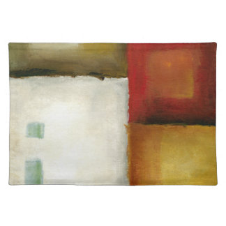 Four Colorful Rectangles by Chariklia Zarris Placemat