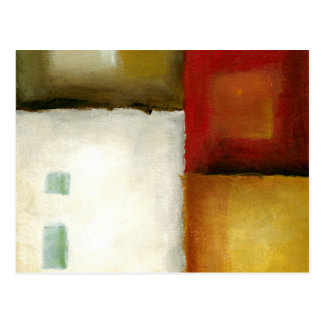 Four Colorful Rectangles by Chariklia Zarris Postcard