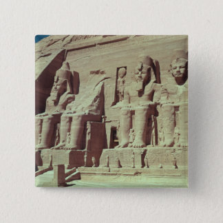 Four colossal figures of the king 15 cm square badge