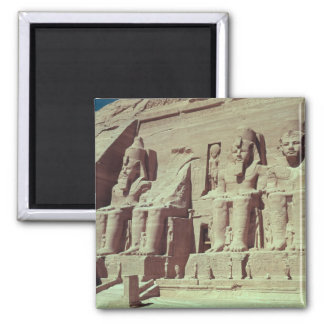 Four colossal figures of the king square magnet