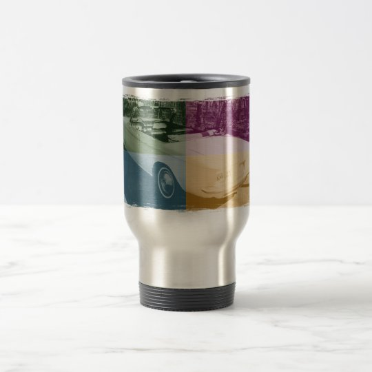 Four Colour Corvair Travel Mug