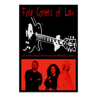 Four Corners of Law Poster