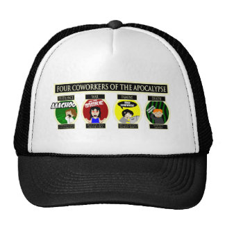 Four Coworkers Of The Apocalypse Cap