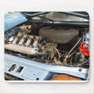 Four-cylinder mousepad