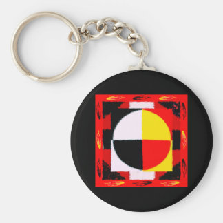 Four Directions Keychain