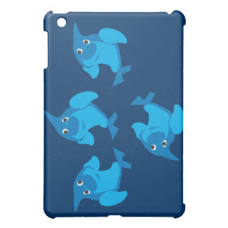 Four dolphins  case for the iPad mini
