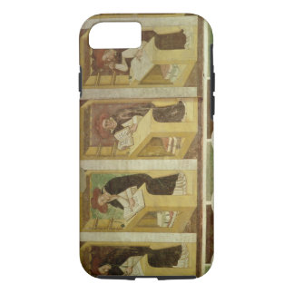 Four Dominican Monks at their Desks, from the cycl iPhone 7 Case