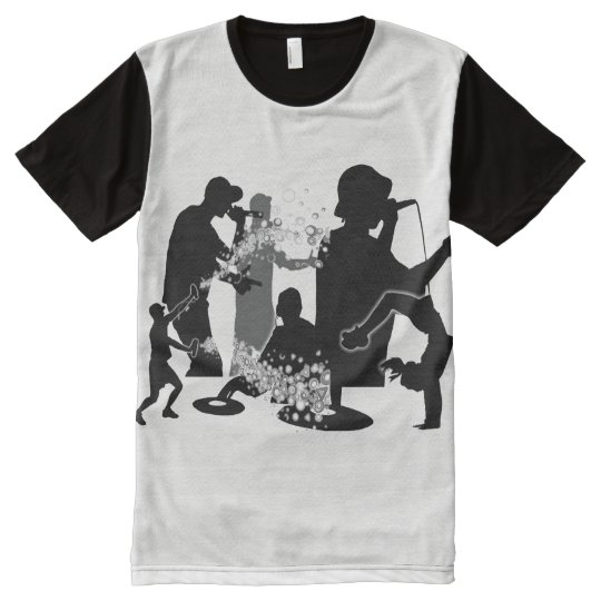 Four Elements 101 All-Over Print T-Shirt