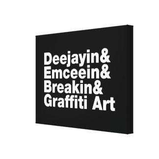 Four Elements of Hip Hop Canvas Print