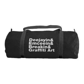 Four Elements of Hip Hop Gym Duffel Bag