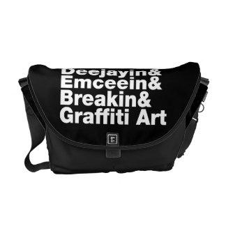 Four Elements of Hip Hop Messenger Bag