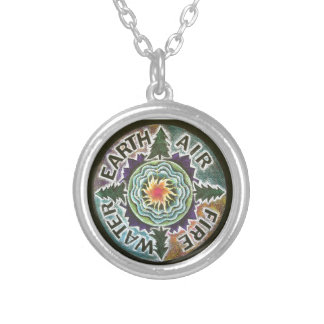 Four Elements Pendant Necklace- Earth Day Honoring