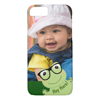 "Four-Eyed Frog ""Photo Bomb"" iPhone 8/7 Case"
