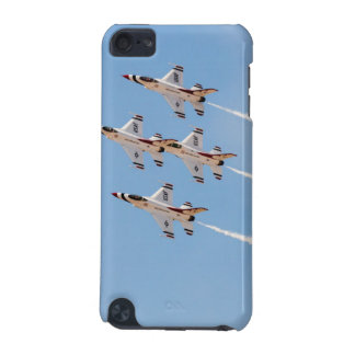 Four F-16 Thunderbirds fly in close formation iPod Touch (5th Generation) Cover