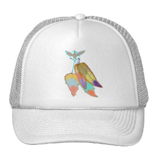 Four Feathers Eagle Hat
