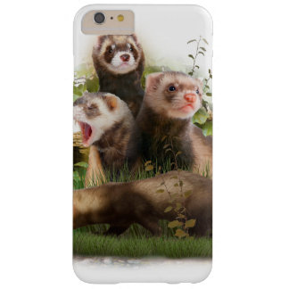 Four Ferrets in Their Wild Habitat Barely There iPhone 6 Plus Case
