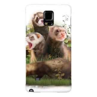 Four Ferrets in Their Wild Habitat Galaxy Note 4 Case