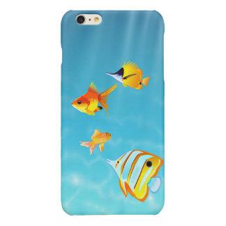 Four Fish Underwater iPhone 6 Plus Case