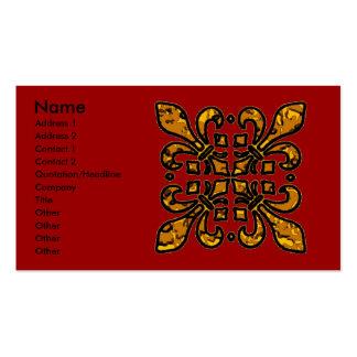 Four Fleur De Lis Pack Of Standard Business Cards