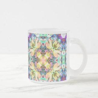 Four Flower Kaleidoscope Mugs