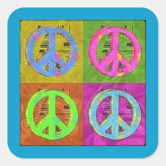 FOUR FOR PEACE STICKER