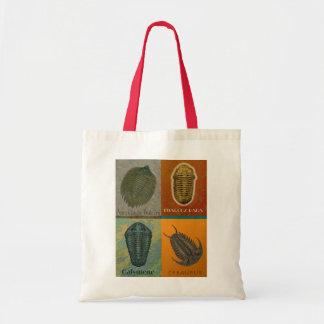 Four Fossil Trilobites Dark Tote Bag