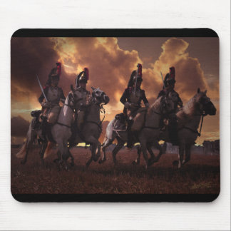 Four French Cuirassiers Mouse Pad