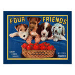 Four Friends Posters
