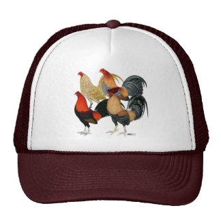 Four Gamecocks Mesh Hats