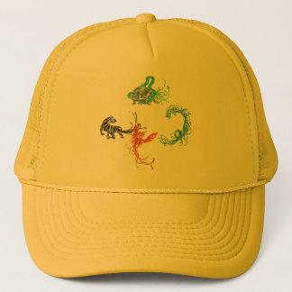 Four Gods Trucker Hat