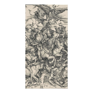 Four Horsemen of the Apocalypse by Durer Photo Cards