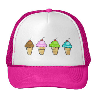 four ice creams cap