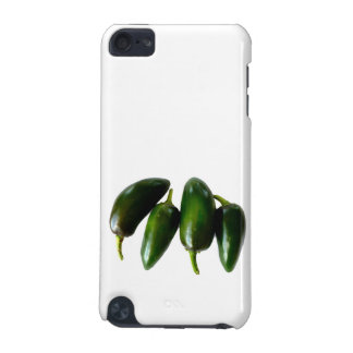 Four Jalapeno Peppers Green Photograph iPod Touch 5G Cover