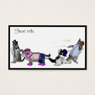Four Kittens At Play Business Card