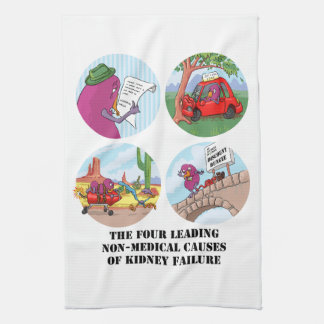 Four Leading Non-Medical Causes... Tea Towels