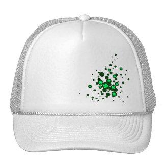 four leaf clover : bubbles : mesh hats