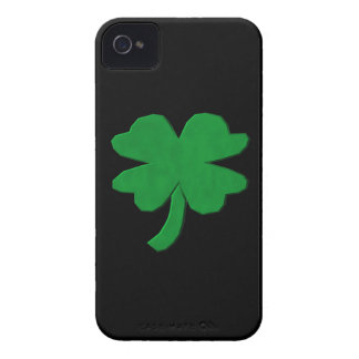 Four Leaf Clover iPhone 4 Case-Mate Cases