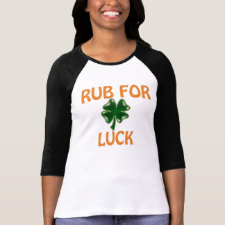 Four Leaf Clover for Luck T Shirts