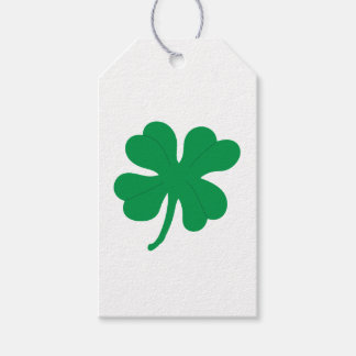 Four Leaf Clover Gift Tag