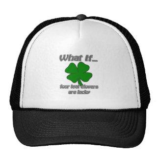 Four Leaf Clover Hats