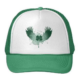 four leaf clover : hi-fi : mesh hats