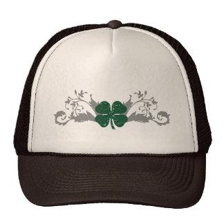 four leaf clover : hi-fi : trucker hat