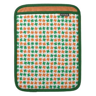 Four-leaf clover iPad sleeve
