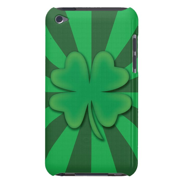 Four Leaf Clover Ipod Touch Case