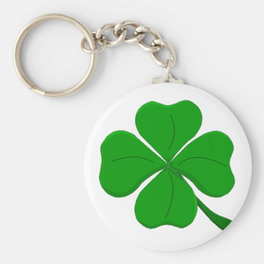 four-leaf-clover key ring